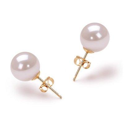 Ohrringe perlen  perlen ohrstecker gold – Große Auswahl an Piercing und ...