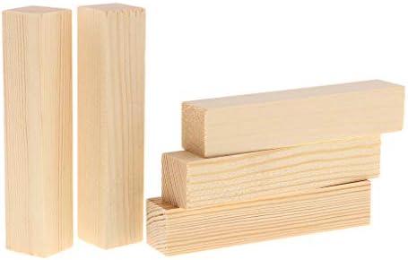 Midwest Productos Juego de Bloque de Madera de Balsa 30,48/x 5,08/x 2,54/cm Multicolor