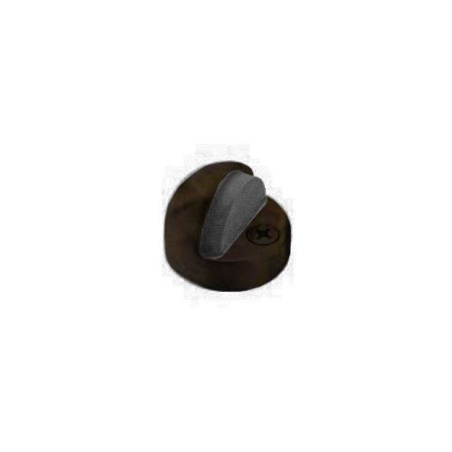 Baldwin 4010.050 Floor Type Half Dome Door Bumper, Satin Brass and (Dome Type)