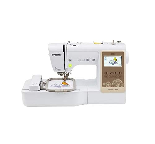 Brother SE625 Combination Computerized Sewing and 4x4 Embroidery Machine with Color LCD Display, 280 Total Embroidery Designs -