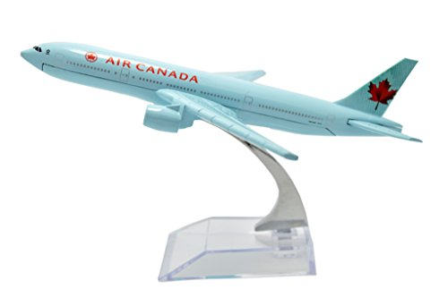 TANG DYNASTY(TM) 1:400 16cm Boing B-777 AIR Canada Plane Metal Airplane Model Plane Toy Plane Model