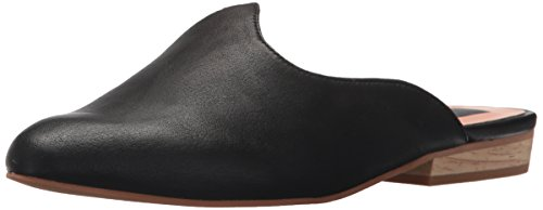 Dolce Vita Women's Marco Mule, Black Leather, 7.5 Medium US