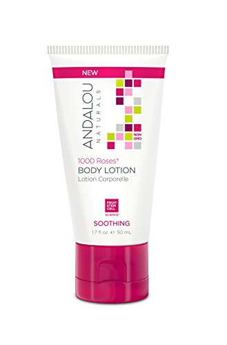 ANDALOU NATURALS 1000 Roses Soothing Body Lotion, 50 ML