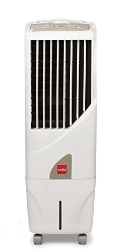 Cello Tower 15 Ltrs Tower Air Cooler (White)