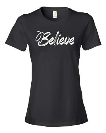 believe tee shirt clothing. Black Bedroom Furniture Sets. Home Design Ideas
