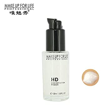 Amazon.com : High Definition Makeup Primer Face Base Foundation Long Lasting Hydrating Face Oil-control Concealing Blemishes Pores Acne Perfecting ...