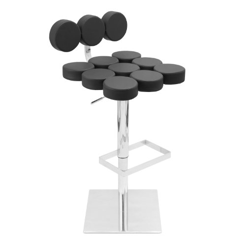 LumiSource Telia Barstool, Black