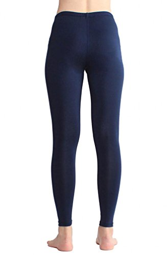 Women's Basic Solid Yoga Pants Ankle Length Workout Leggings Old Navy M