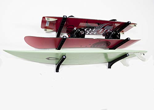 Nice Rack Wall Rack - Triple - for Surfboards and more