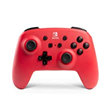 Enhanced Wireless Controller for Nintendo Switch Accessories - Red