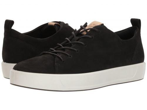 ECCO(エコー) メンズ 男性用 シューズ 靴 スニーカー 運動靴 Soft 8 Tie - Black/Powder [並行輸入品] B07BLPXZM1