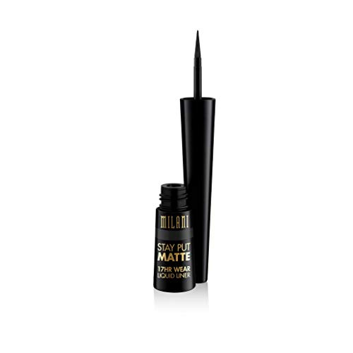 MILANI Stay Put Matte 17Hr Wear Liquid Eyeliner Black Matte