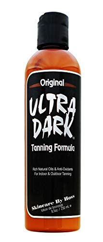 Ultra Dark Tanning Lotion | The Original | From Hoss Sauce Tanning Products 8oz