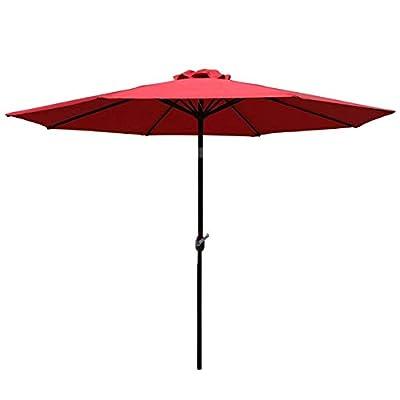 Sunnyglade 7.5Ft Patio Garden Outdoor Market Umbrella with Tilt and Crank