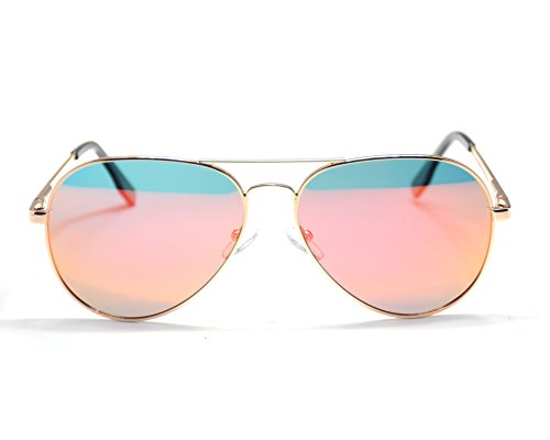 Jee hombre Oro aviador Naranja 3025 Gafas de sol aviator mujer 1a1Rwrq