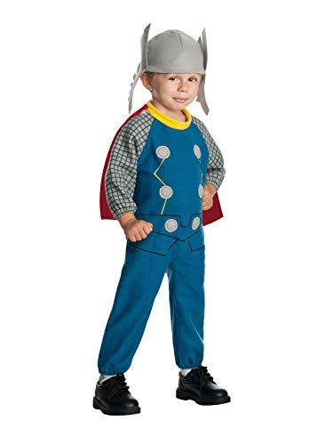 Rubie's Baby's Marvel Classics Avengers Assemble Fleece Thor Costume, Multi, Toddler]()