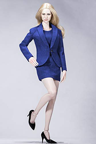 HHFC Female Figure Accessories 1/6 Figure Female Working Clothes 1:6 Figure Suit Dress Clothes Set 12