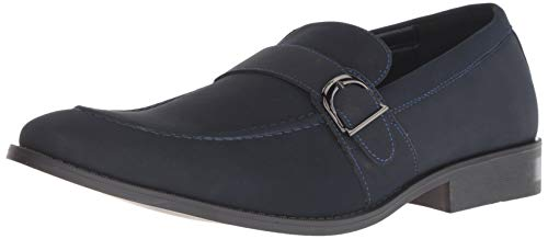 Unlisted by Kenneth Cole Men's Half TIME Show Loafer Navy 9 M US