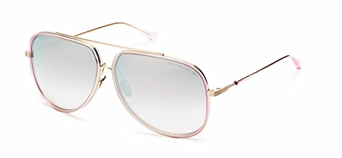 DITA DRX 21010 Condor Sunglasses Gold w/Gold Mirror Gradient (DRX-21010-PNK-GLD-62) 62mm - Dita Gold Sunglasses