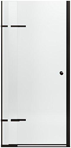 KOHLER K-709033-L-ABZ Underline Pivoting Shower Door, 69-1/2