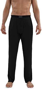 Saxx Underwear Men's Sleepwalker Lounge Pants - PJ Pants with Built-in Ballpark Pouch Support – Men's Sleep an