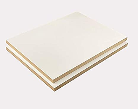 Black Red or Other Colors Laminate Shelf White 20 x 28 Melamine 2 Pack Choose Your Accurate Size 1//8, 1//4, 3//8, 1//2