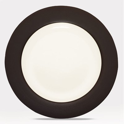(Noritake Colorwave Rim Dinner Plate, Chocolate)