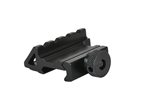 QD Offset 45 Degree Angled 20mm Mount Base for Sights Weaver Picatinny Rail Scope Mount (45 Degree Offset)