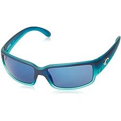 Costa Del Mar Caballito Sunglasses, Matte Caribbean Fade, Blue Mirror 580Plastic Lens