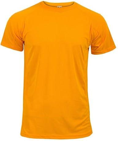 AA Sportswear Nuevo Hombre Transpirable Camiseta de Manga Corta Transpirable Cool Dry Correr Gimnasio Camiseta Rendimiento Deportivo