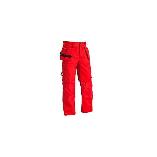 Blakläder travail pantalons ceinture Artisans 1530, couleur:rouge;pointure:46L