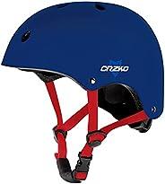 CRZKO Kids Bike Helmet, Safety Toddler Helmet Anti-Shock for Multi-Sport, Cycling Skate Scooter Skateboard, Ad