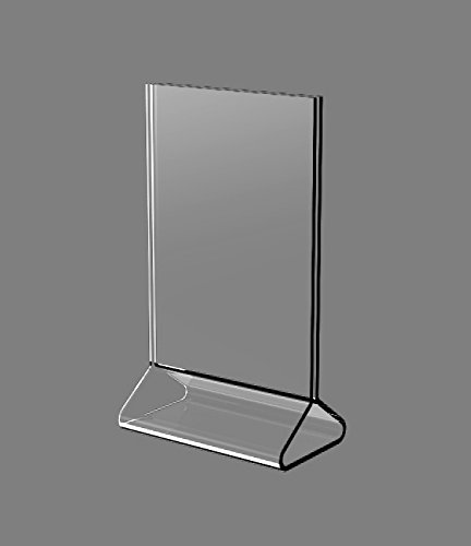 "Fixture Displays 1PK 4x6"" Acrylic Sign Holder Frame Photo Menu 11193-3"