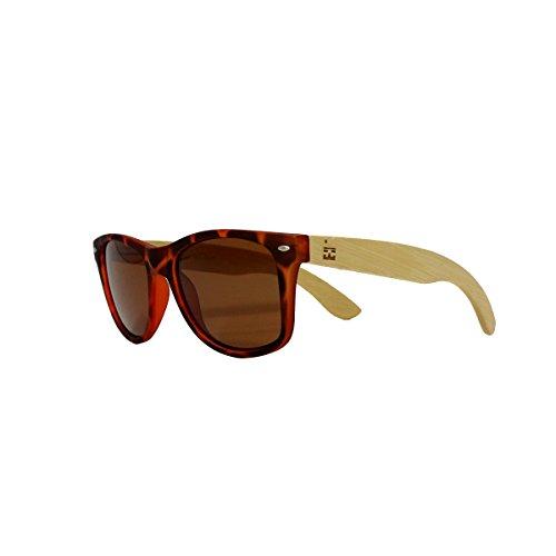 POLARIZED | Handcrafted Bamboo Sunglasses |