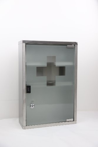 - Wincere Stainless Steel Wall Mount Medicine Cabinet S1201-D