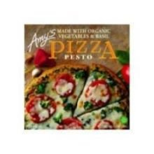 Amy\'s Pesto Pizza with Tomato & Basil, Organic, 13.5-Ounce Boxes (Pack of 8)