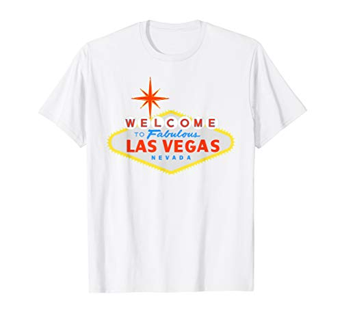 (Welcome to Las Vegas Fabulous Nevada Sign TShirt)