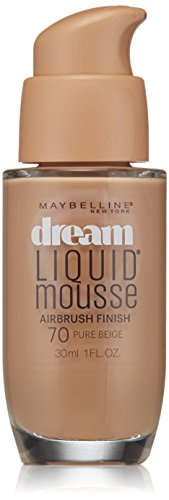 Maybelline New York Dream Liquid Mousse Foundation, Pure Beige, 1 Fluid Ounce(Packaging May Vary)