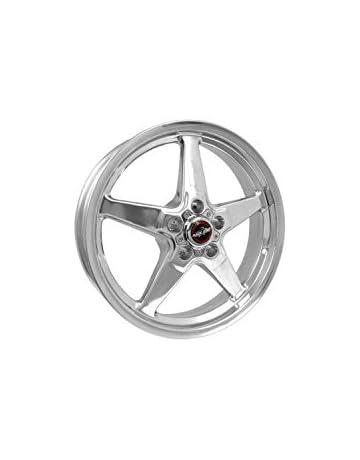2c52cf23825fc1 Race Star Wheels 92 Drag Star Polished Aluminum 18x5 Corvette 5x4.75