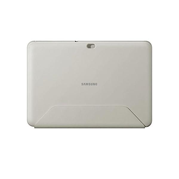 Samsung Book Cover - Funda para Samsung GT-P7500 Galaxy Tab 10.1 (función soporte), blanco 10