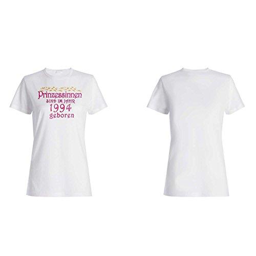 Prinzessinnen sind im jahr 1994 geboren Damen T-shirt cc20f