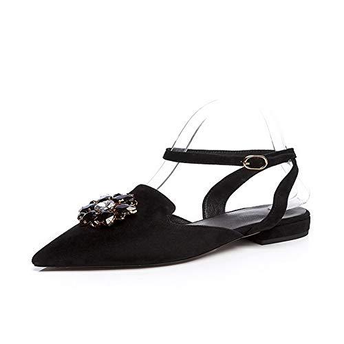 36 5 EU APL11164 Noir Compensées Sandales Femme Noir BalaMasa z06qYw
