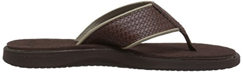 Nautica Dark Flop Flip Brown Men Bova g7r4qg