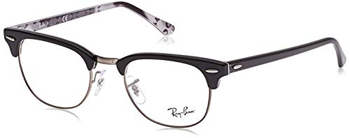Ray-Ban RX5154 Clubmaster Square Prescription Eyeglass Frames