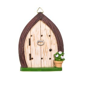 Mini Resin Fairy Garden Door 4.5 x 3.38 Inches