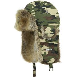 a71882d8 Image Unavailable. Image not available for. Colour: Barts Kamikaze Fur  Lined Bomber/Trapper Hat - Army Camo