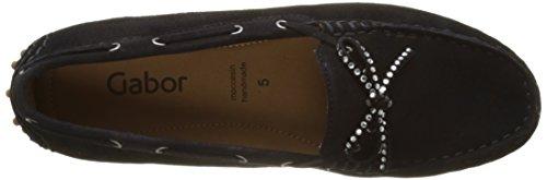 Gabor Shoes 64.201, Mocasines Mujer Azul (pazifik 16)