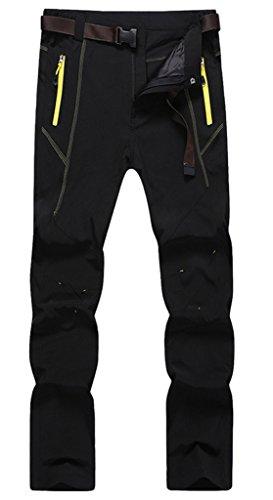 Geval Men's Windproof Waterproof Softshell Outdoor Pants