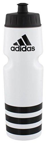 adidas Squeeze 750ML Plastic Water Bottle (28oz), White/Black ()