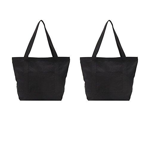 Extra Large Black Beach Bag: Amazon.com